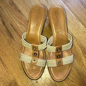 Contessa Italian Made Cork Sandals 11